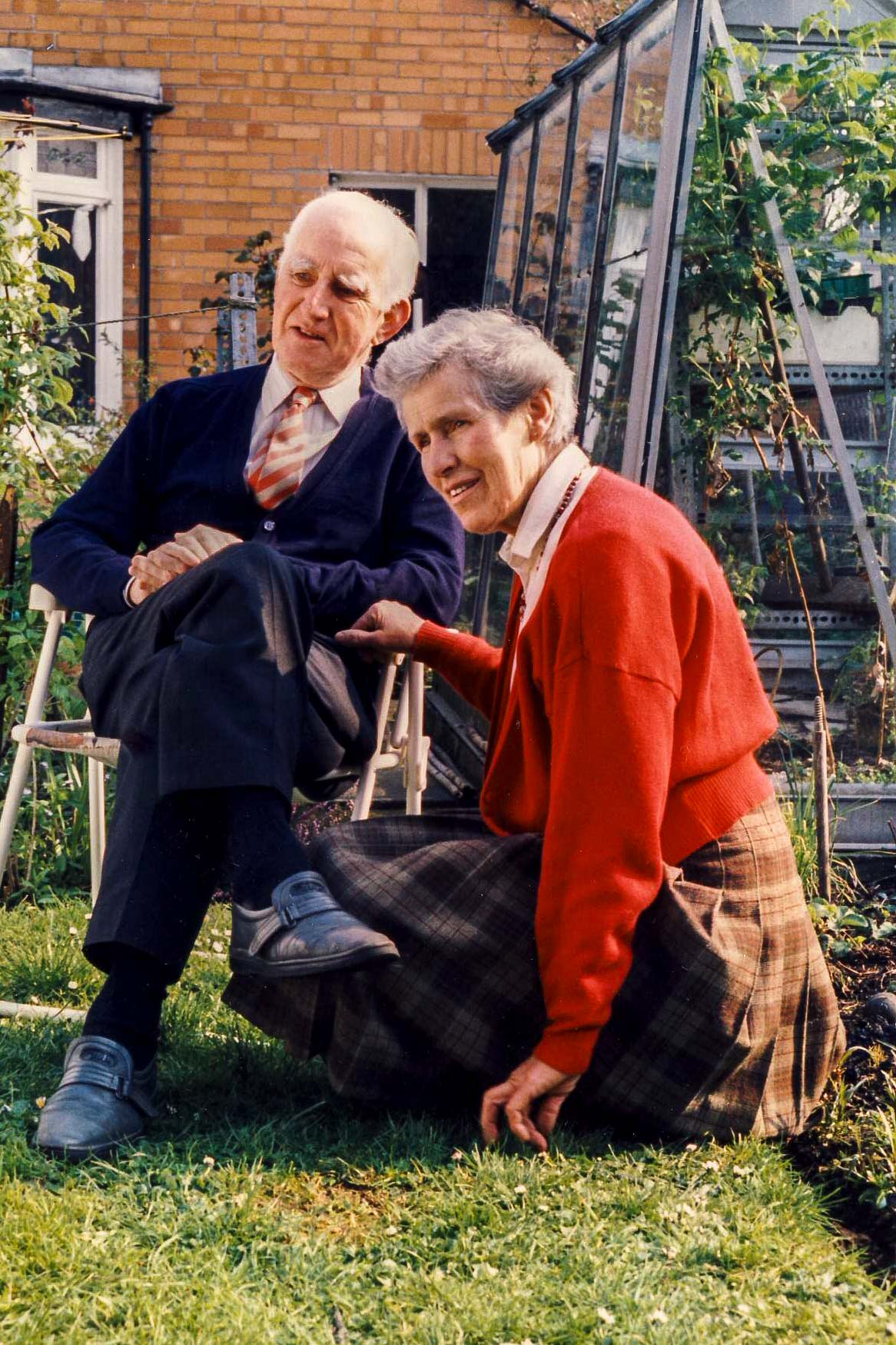 Ray and Kathleen Davey, photographed in 1989