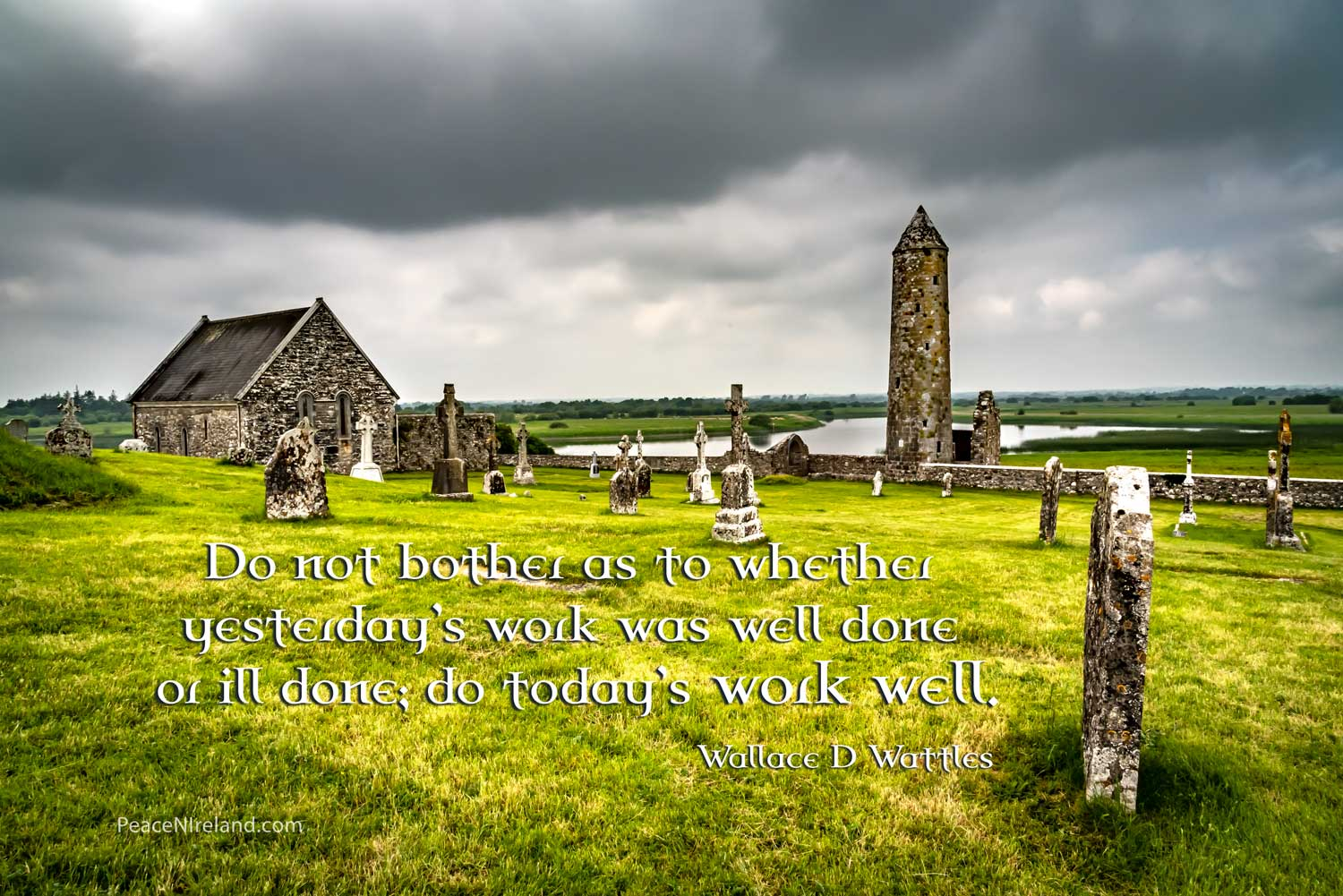 Clonmacnoise, County Offaly