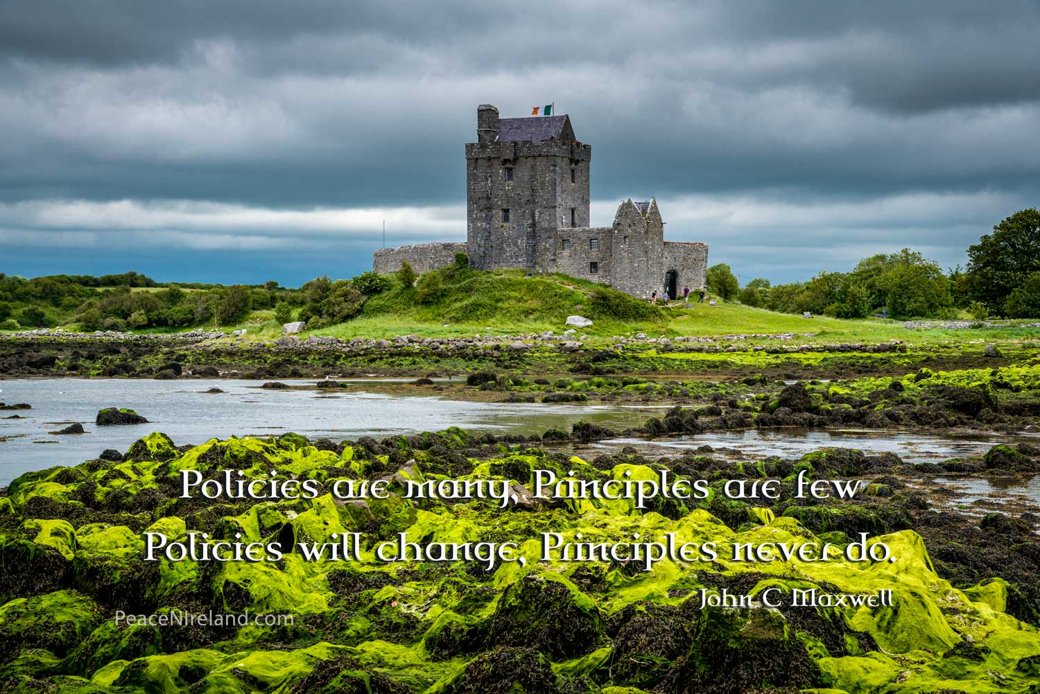 Dunguaire Castle, Galway Bay, County Galway