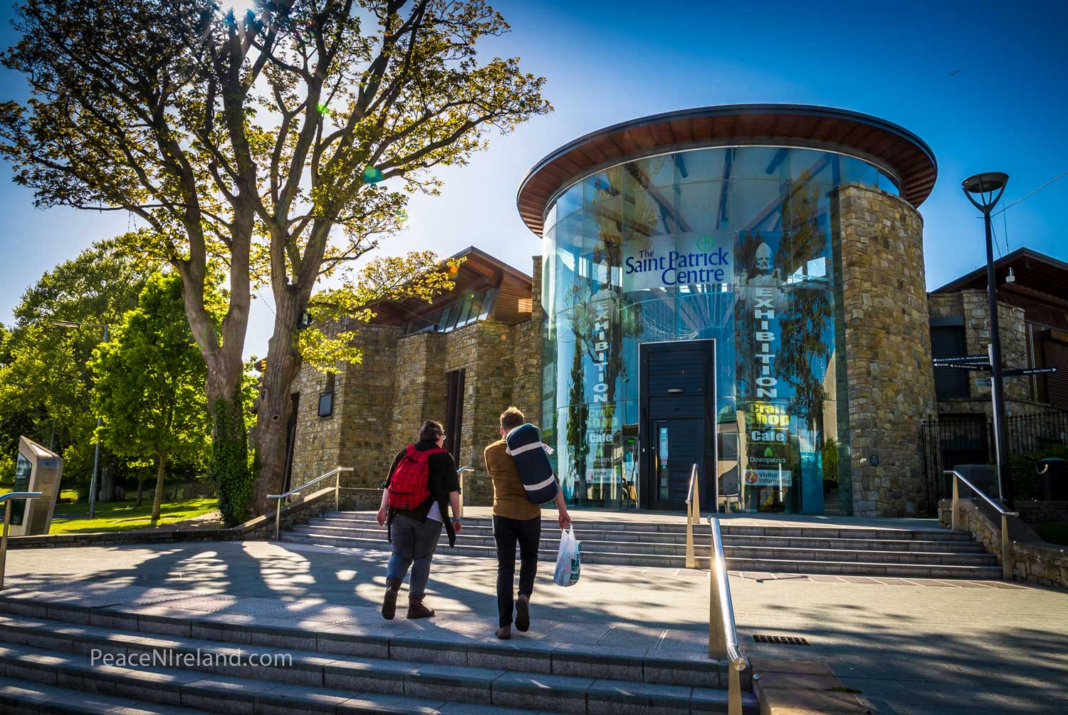 The St Patrick Visitor Centre, Downpatrick, County Down.