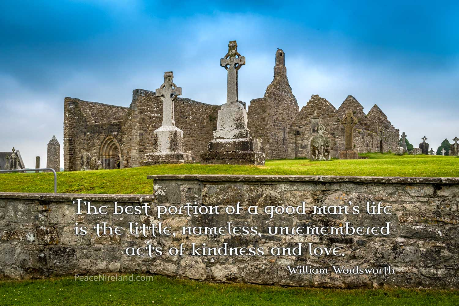 St Patrick's Cross at Clonmacnoise, County Offaly