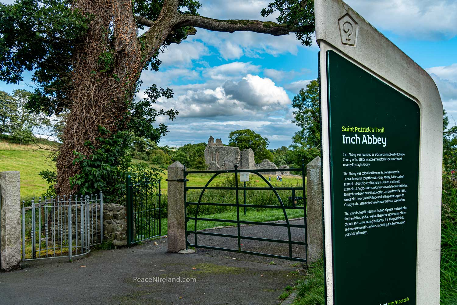 Part of St Patrick's Trail and popular site for visitors in Downpatrick