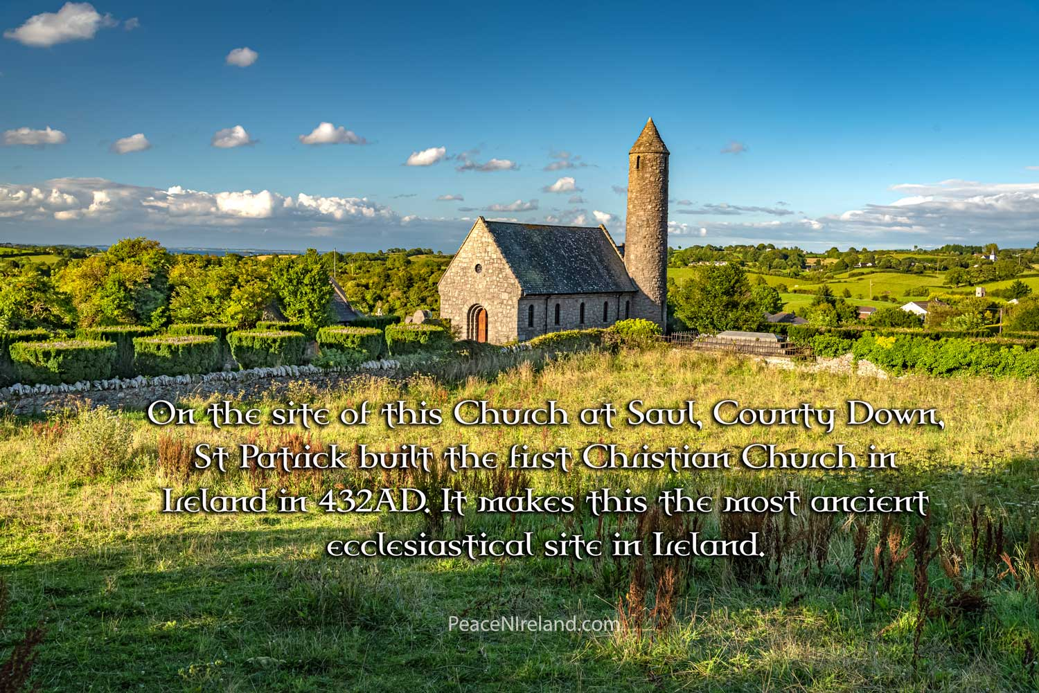 St Patrick series: Saul church 1, County Down