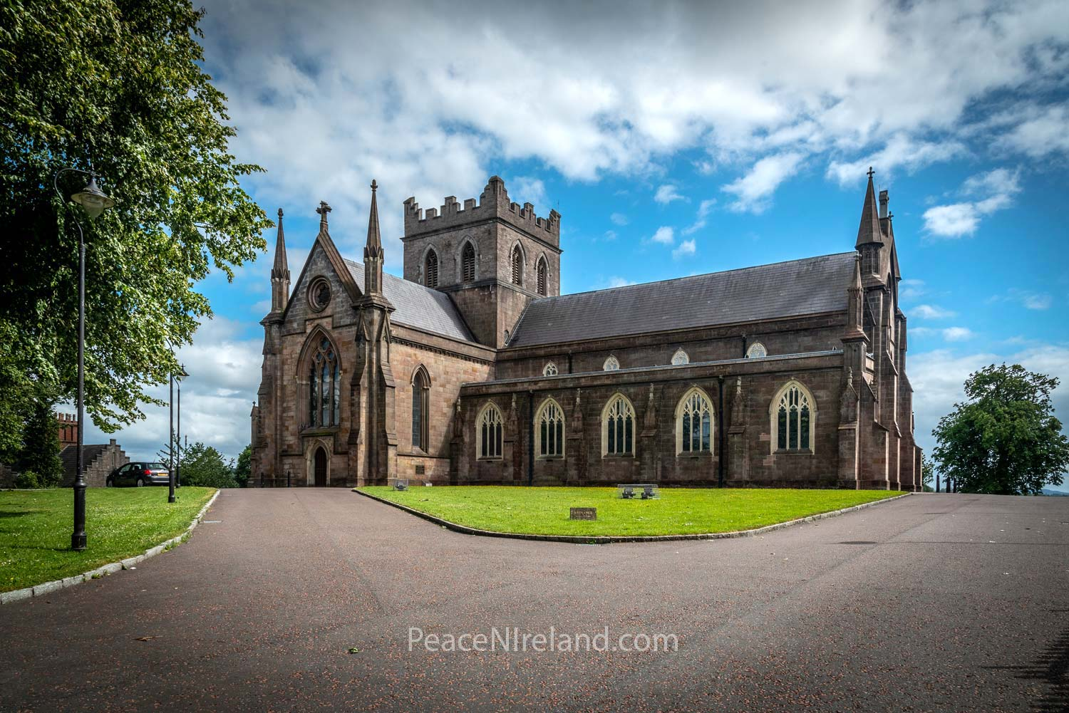 The second St Patrick's Cathedral, Armagh